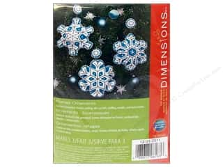 Dimensions Applique Kit Felt Flurries Ornaments
