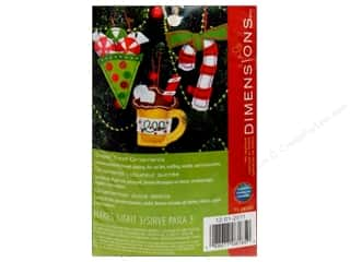 Dimensions Applique Kit Felt Sweet Treat Ornaments