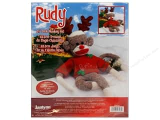 Doll Making Yarn & Needlework: Janlynn Sock Monkey Kit 21 in. Rudy