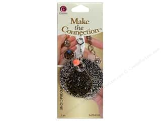 Stamping Ink Pads Beading & Jewelry Making Supplies: Cousin Make the Connection Accent Round Stamped With Red