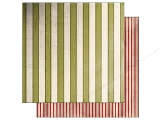 Glitz Design 12 x 12 in. Paper Joyeux Noel Stripe (25 piece)