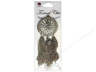 Cousin Corporation of America Clearance Crafts: Cousin Make the Connection Accent Formal-Chic Metal Round With Tassels