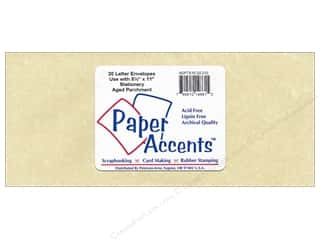 Envelopes 9 1/4 x 4 in. Envelopes by Paper Accents: 4 x 9 1/4 in. Letter Envelopes by Paper Accents 20 pc. #210 Parchment Aged