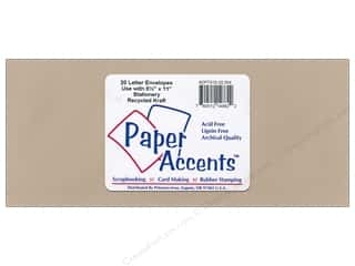 Art Impressions $12 - $14: 4 x 9 1/4 in. Letter Envelopes by Paper Accents 20 pc. Recycled Kraft