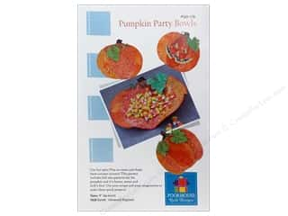 Home Decor Halloween Spook-tacular: Poorhouse Quilt Design Pumpkin Party Bowls Pattern