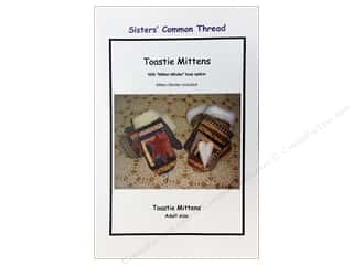 Sisters' Common Thread Wool & Wool Felt Patterns: Sisters' Common Thread Toastie Mittens Pattern