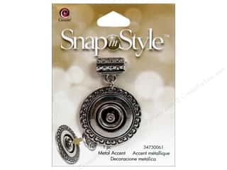 Cousin Snap In Style Base Pendant Mtl Round Slide