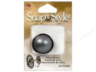Snaps Cousin Snap in Style Snap: Cousin Snap In Style Accent Glass Pearl Grey