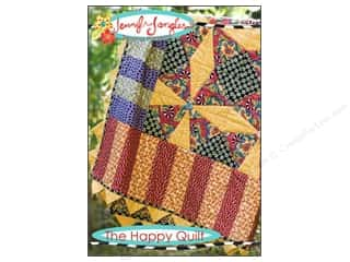 Quilt Pattern: Jennifer Jangles The Happy Quilt Pattern