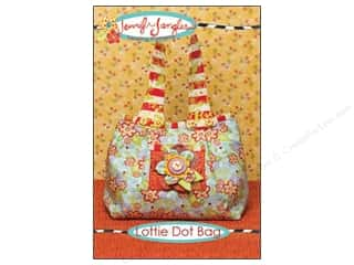 Quilted Trillium, The Purses, Totes & Organizers Patterns: Jennifer Jangles Lottie Dot Bag Pattern