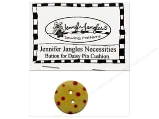 Blumenthal Hand Dyed & Ceramic Buttons: Jennifer Jangles Necessities Pack Daisy Pin Cushion