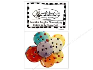 Sewing & Quilting Buttons: Jennifer Jangles Necessities Pack Happy Quilt