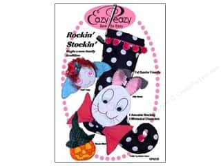 Halloween Clearance Patterns: Eazy Peazy Rockin Stockin Pattern