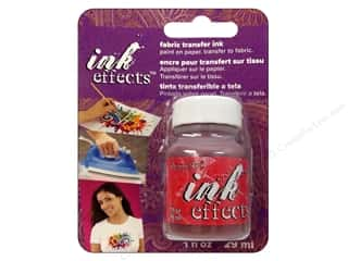 Inks Fabric Painting & Dying: Decoart Ink Effects Fabric Transfer Ink 1oz Red