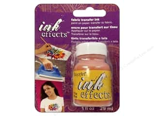 Inks Fabric Painting & Dying: Decoart Ink Effects Fabric Transfer Ink 1oz Yellow