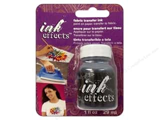 Decoart Ink Effects Fabric Transfer Ink 1oz Black