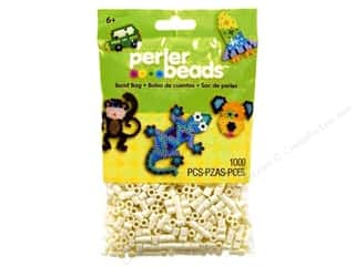 Perler Fused Bead Package 1000pc Creme