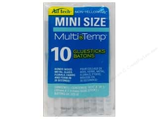 hot glue: MultiTemp Hot Glue Stick Mini 4 in. 10 pc. by Ad Tech