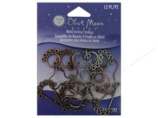 Blue Moon Earring Find Ranch Astd Ox Copper&amp;Silver