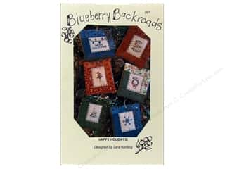 Blueberry Backroads Borders: Blueberry Backroads Happy Holidays Pattern
