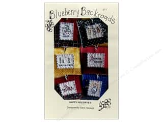 Blueberry Backroads Needlework Patterns: Blueberry Backroads Happy Holidays II Pattern