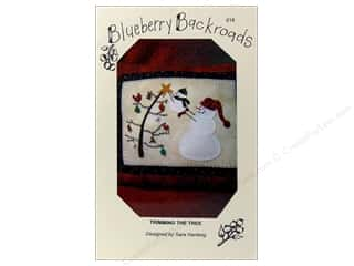 Blueberry Backroads Needlework Patterns: Blueberry Backroads Trimming The Tree Pattern