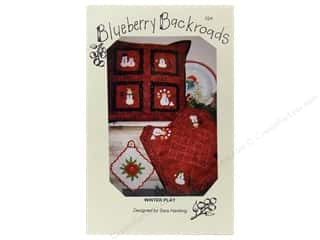 Blueberry Backroads Needlework Patterns: Blueberry Backroads Winter Play Pattern