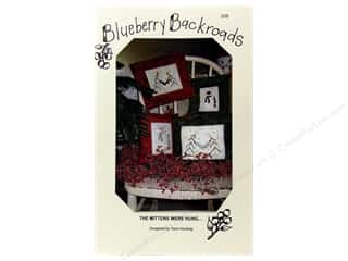 Blueberry Backroads Needlework Patterns: Blueberry Backroads The Mittens Were Hung Pattern