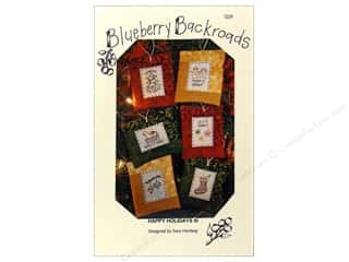 Blueberry Backroads Needlework Patterns: Blueberry Backroads Happy Holidays III Pattern