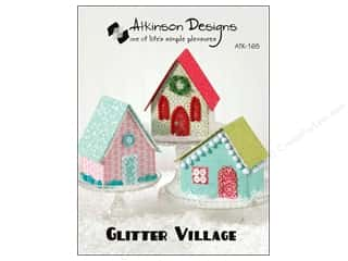 Clearance Blumenthal Favorite Findings $5 - $6: Atkinson Designs Glitter Village Pattern