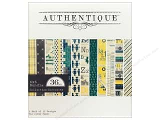 Authentique Paper Bundle 6 x 6 in. Curiosity 36pc