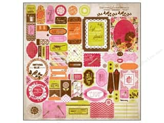 Authentique Sticker Lively 12x12 Details