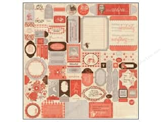 Authentique Sticker Carefree 12x12 Details (3 set)