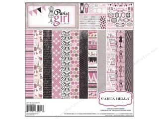 Carta Bella Collection Kit 12x12 Paris Girl