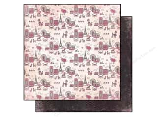 Carta Bella Paper 12x12 Paris Girl Around Town (25 piece)