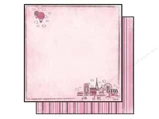 Vacations Hot: Carta Bella 12 x 12 in. Paper Paris Girl Oui Oui (25 pieces)