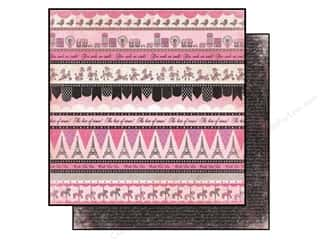 Carta Bella Paper 12x12 Paris Girl Paris Borders (25 piece)