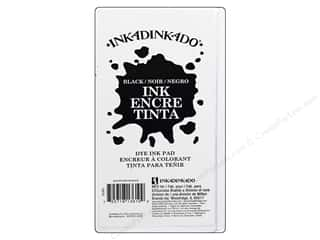 Inkadinkado Ink Pad Dye Large Black