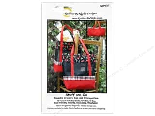 "Purses 14"": Quilter By Night Designs Stuff & Go Grocery Bag Pattern"