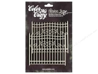 Petaloo Color Me Crazy Chipboard Gates