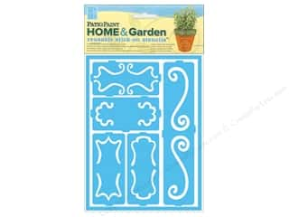 Decoart Clearance Crafts: DecoArt Stencil Patio Paint Home & Garden Stick On Decorative Scrolls