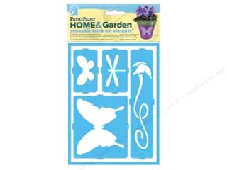 Decoart Clearance Crafts: DecoArt Stencil Patio Paint Home & Garden Stick On Flying Friends