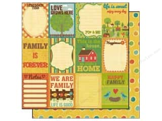 Best Creation Paper 12x12 Home Memories Sweet Tags (25 piece)
