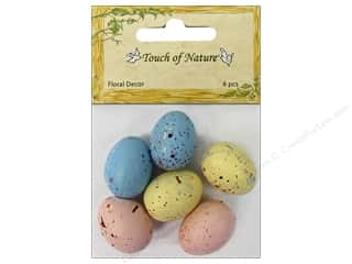 "Midwest Design Bird Egg Speckled 0.75""Pastel 6pc"