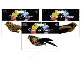 "Midwest Design Birds Feather 5"" Safari Assorted"