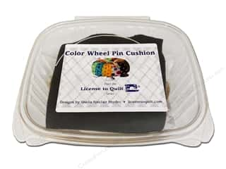 License To Quilt Kit Color Wheel Pin Cushion