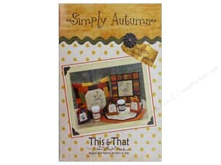 Halloween Clearance Patterns: This & That Simply Autumn Book