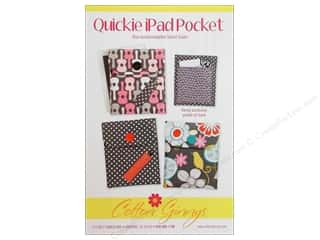 Cotton Ginny's Tote Bags / Purses Patterns: Cotton Ginnys Quickie iPad Pocket Pattern