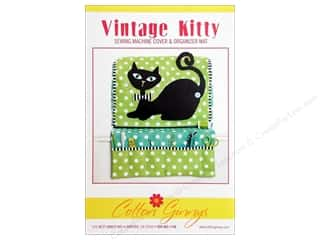 Pets Books & Patterns: Cotton Ginnys Vintage Kitty Sewing Machine Cover Pattern