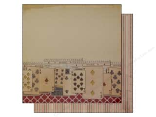 Scoring: Bazzill 12 x 12 in. Paper Score Card/Game Night 25 pc.